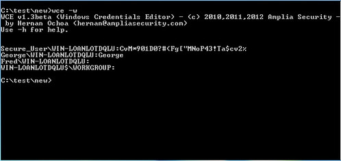 Windows Credentials Editor (WCE) - List, Add & Change Logon Sessions