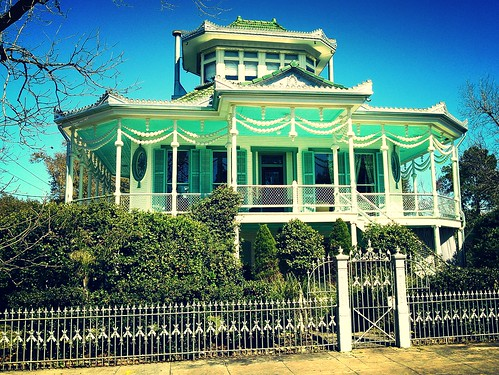 Steamboat House (color effect)