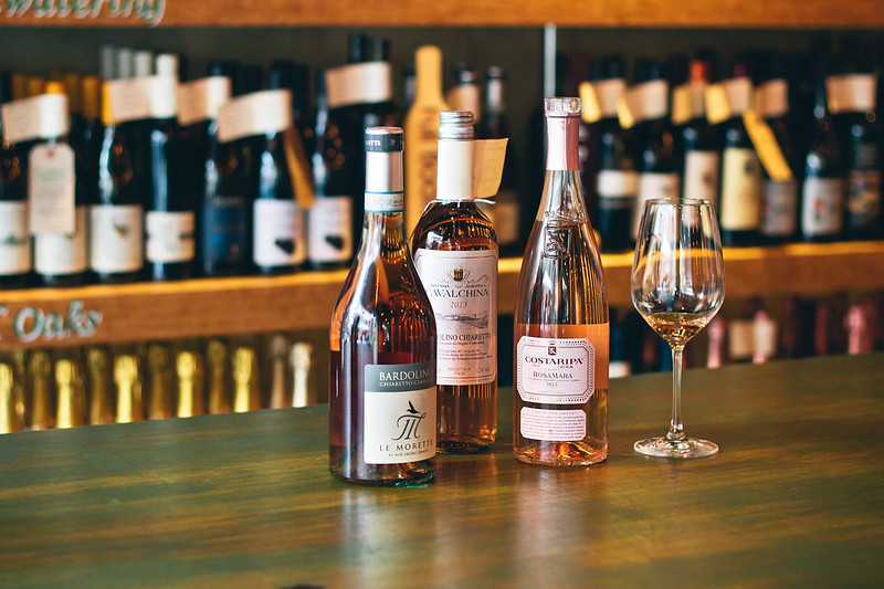 {selecting rosé wine with Dalla Terra} via chevrons & éclairs