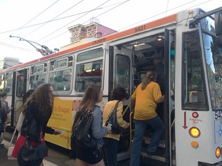 Muni Fillmore 22  Now Boarding at Haight and Fillmore