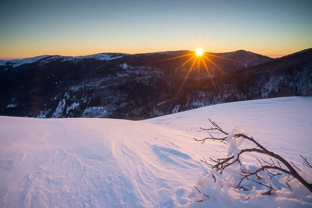 Frosty Sunrise @ Nonselkopf