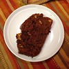Chocolate peanut butter bread. Yowzers. #baking #chocolate #dessert