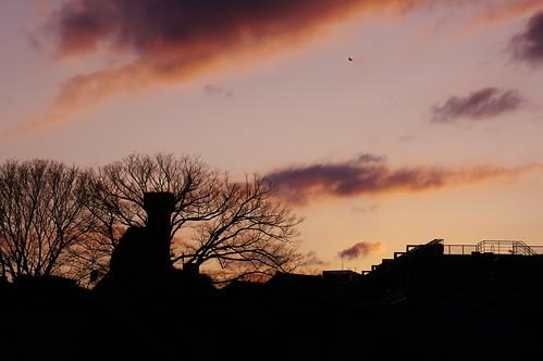 sunset k3 夕焼け smcpentaxda★55mmf14sdm