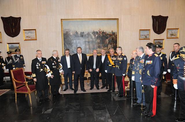 Παρουσία της Πολιτικής και Στρατιωτικής Ηγεσίας του ΥΠΕΘΑ στις τελετές παράδοσης - παραλαβής καθηκόντων του Αρχηγού ΓΕΣ και του Αρχηγού ΓΕΑ