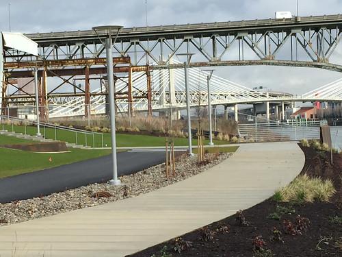South Waterfront Greenway path-11