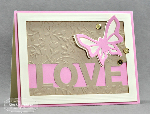 Taylored Expressions Block Party Love Flutter-By