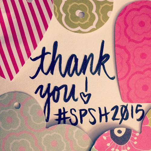 Super awesome #incomingmail part 2: my #spsh2015 arrived!!!! Thanks so much @with.love.melina!!! I can't wait to post the reveal on my blog!!💌❤️