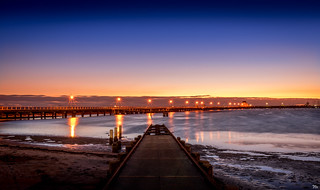 St Kilda Pier ffrom Boat Ramp Signed