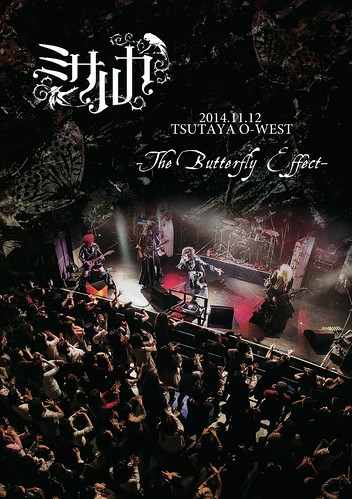 "Misaruka's 2nd live DVD ""2014.11.12 TSUTAYA O-WEST ~The Butterfly Effect~"" goes on sale May 27, 2015"