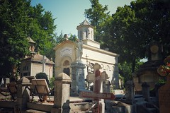 Bucharest - Bellu Cemetery - Marinescu Family Monument