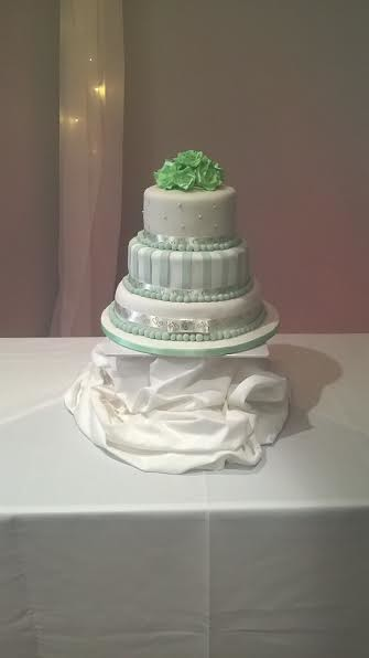 3 Tier Cake by Caroline Walker