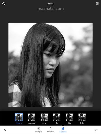 Snapseed Black Profile