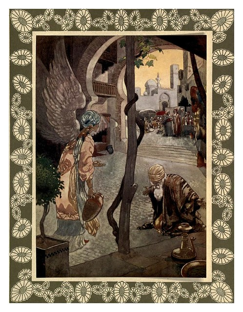 007-Rubáiyát of Omar Khayyám-1913- Ilustrado por René Bull