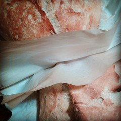 Last 2 loaves of thanksgiving bread. Phew. #vegan