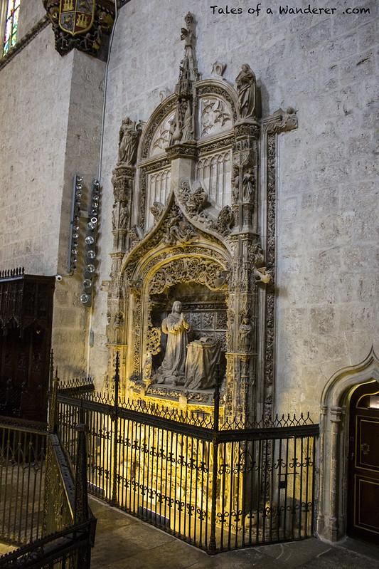 BURGOS - Cartuja de Miraflores - Sepulcro de Alfonso de Castilla