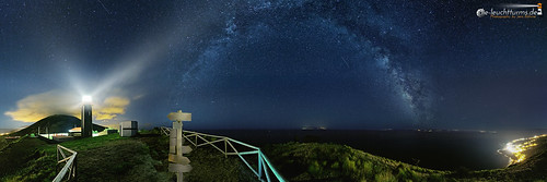360 degrees starry sky