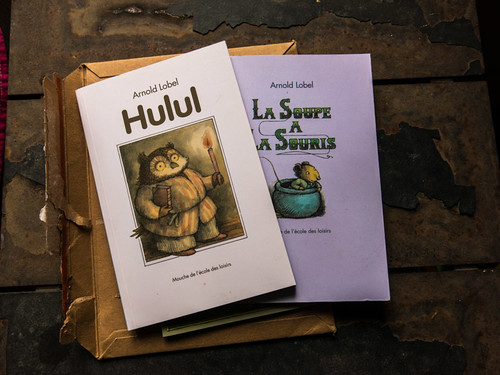 Lobels books translated in french