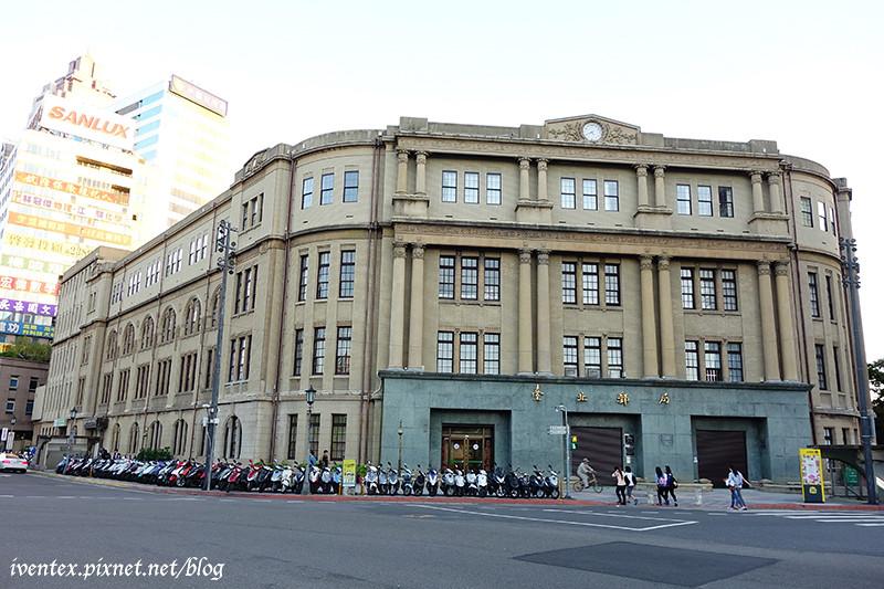 54刀口力捷運北門站台北郵局