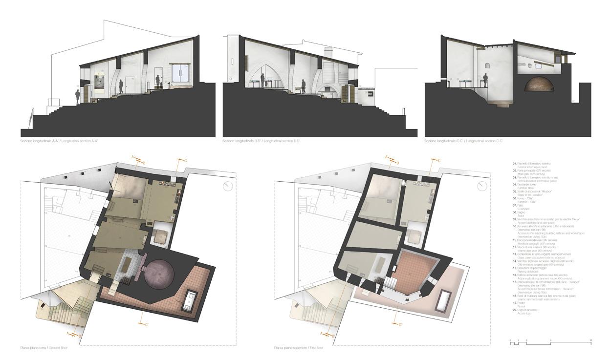 Planos+Leyenda_FORN DE LA VILA DE LLÍRIA_intervencion_autor hidalgomora arquitectura patrimonio.