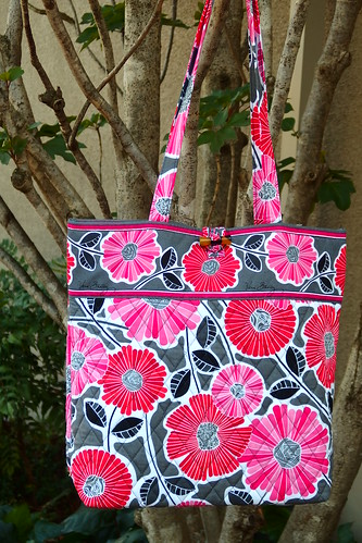 Tote in Cheery Blossoms