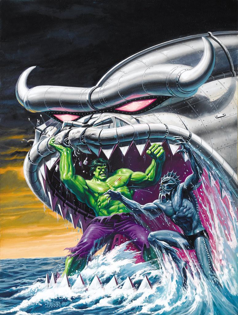 Bob Larkin - The Hulk Magazine #22 (Marvel,  1980)