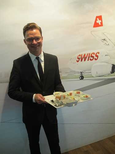 Caminada Pop-Up on SWISS Flight
