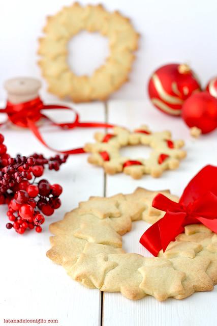 ghirlande di Natale con frollini vaniglia8