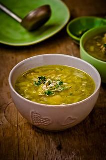 turkey and pearl barley soup.1