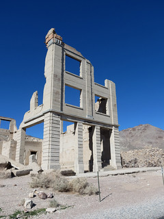 Remains Of The John S. Cook Bank, Rhyolite, Nevada