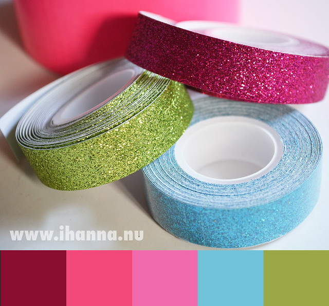 Color Inspiration | Glitter tape