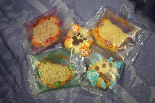 Tokyo Disney Sea Duffy & Friends Halloween biscuits