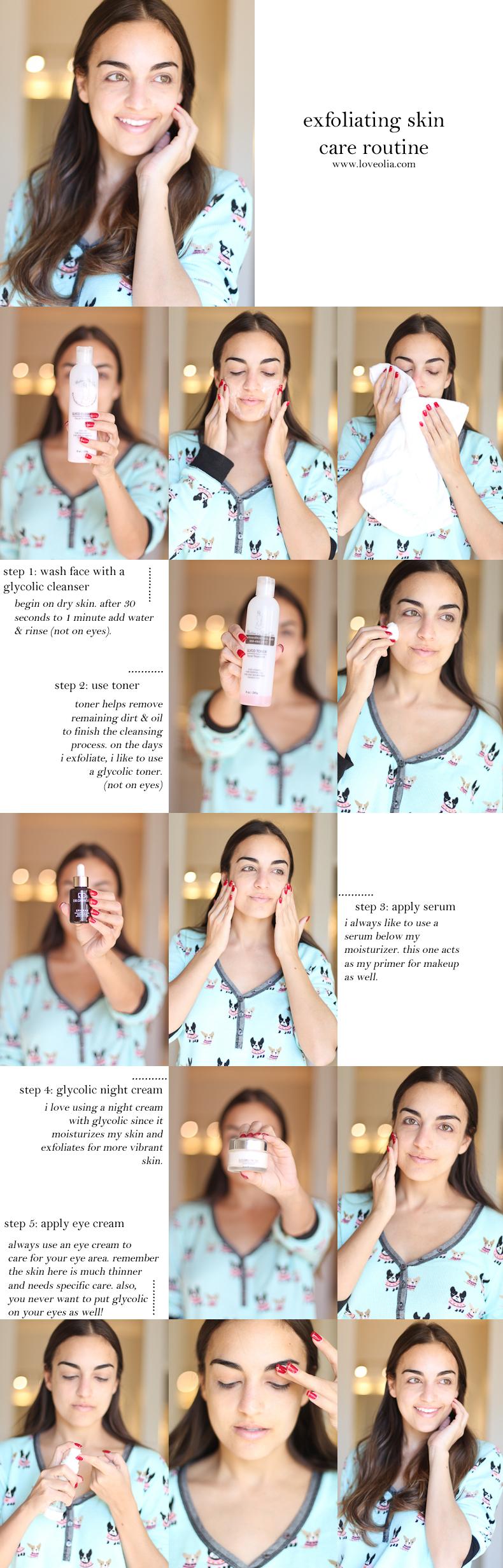exfoliating-skin-care-routine