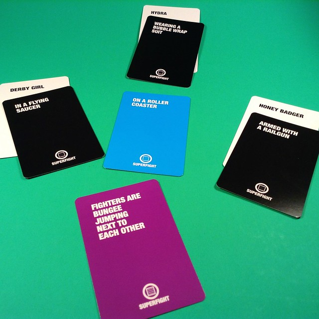 February 2015 Loot Crate Superfight cards