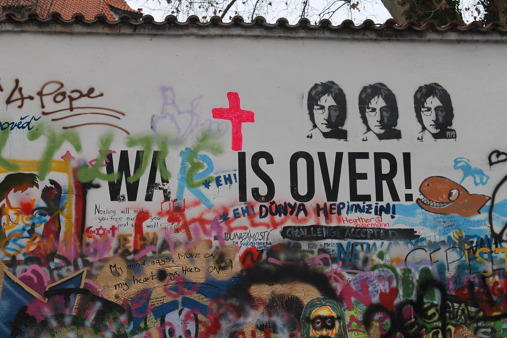 War is Over - John Lennon Wall