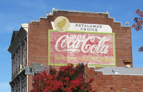 Petaluma Coca-Cola Ghost Sign