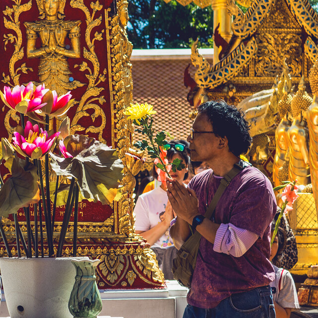 Wat Phra That Doi Suthep Temple via TinyBlackBird.com