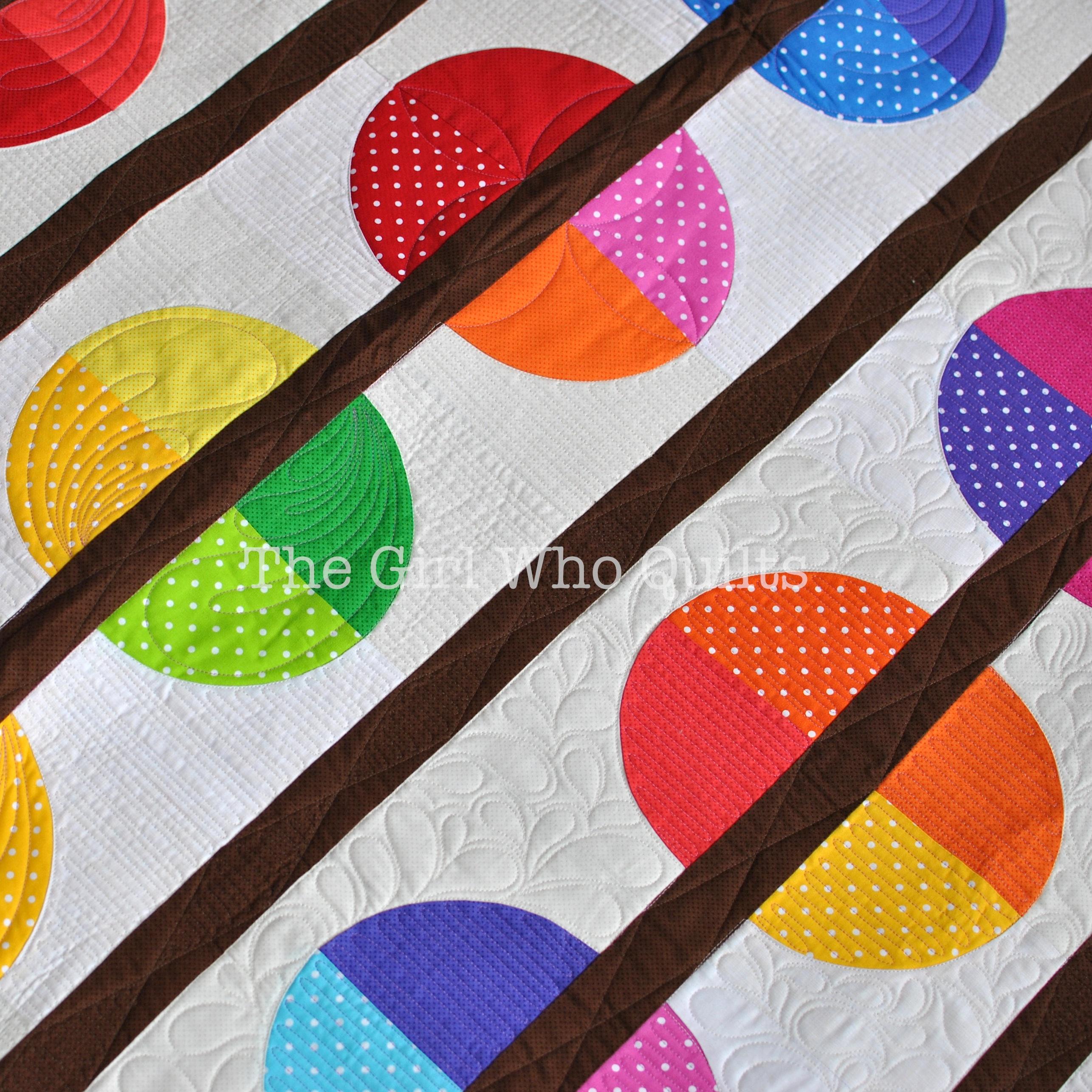 Beaded String quilt
