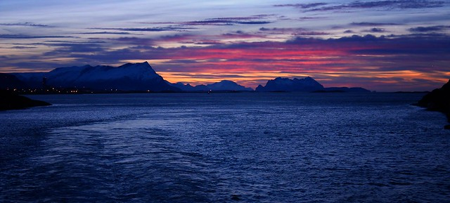 3PM: Norway Arctic - afternoon - sunset - blue hour or: All in one?