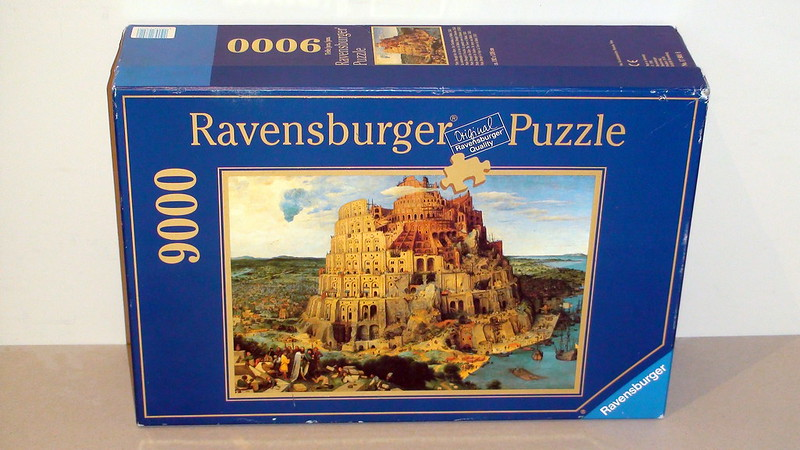 9.000 - Ravensburger - The Tower of Babel
