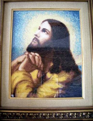 Молящийся Иисус