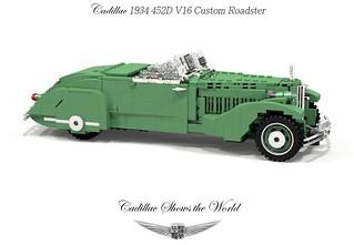 Cadillac 1934 452D V16 Custom Roadster