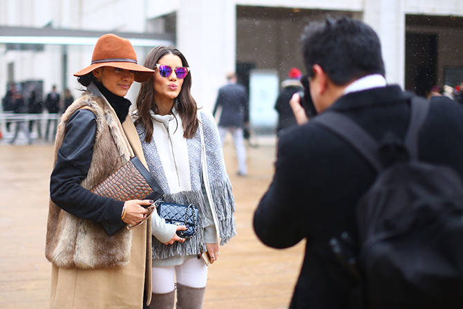 Camila Coelho Street Style by Craig Arend