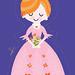 The Unicorn Princess by Patty Rybolt Designs