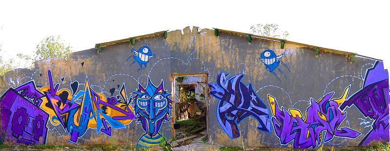 2 sague she (GFM) corte kay (FDS) y el Pez en pamplona 2004