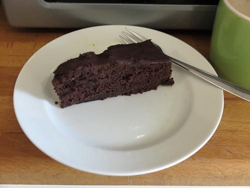Schoko-Cola-Kuchen mit Fleur de Sel