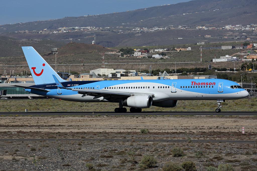 G-OOBP - B752 - TUI Airways
