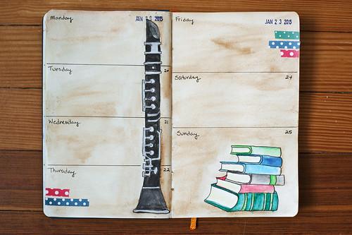Sketchbook Journal 2015 - Week 4
