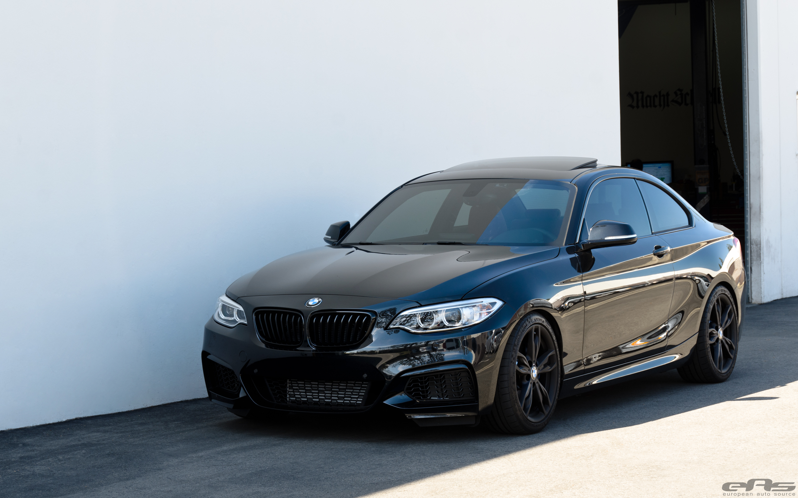 springs spacers for a blacked out m235i bmw. Black Bedroom Furniture Sets. Home Design Ideas