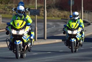 Humberside Police Bikers