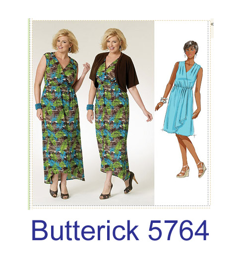 Butterick 5764 pattern envelope